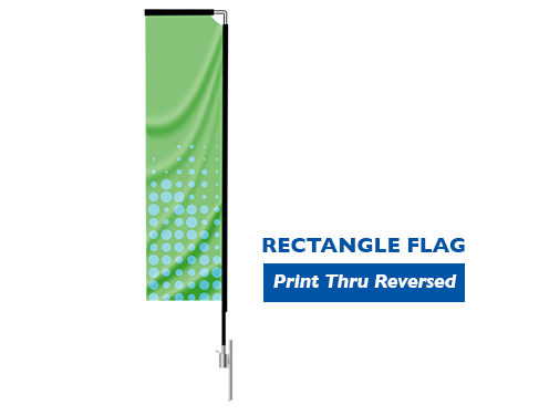 Image of item Rectangle Flag - (Large) 2