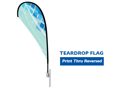 Image of item Teardrop Flag - (Large) 2