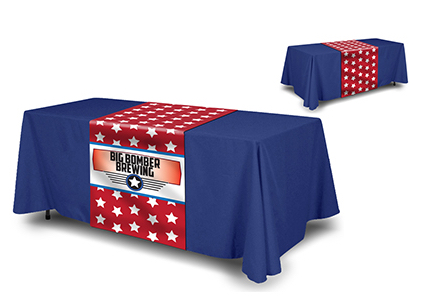 Image of item Table Runner & Solid Color Throw Combo 0