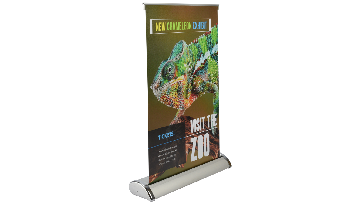 "Image of item Table Top Banner Stand 11.5""x17.5"" 0"